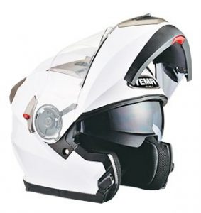 casco yema YM-925 blanco