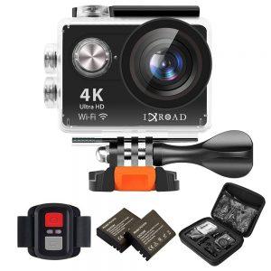 La cámara para cascos de Moto es 4k